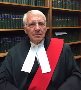The Honourable Justice Russell J. Otter '70