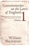 William Blackstone - Commentaries on the Laws of England