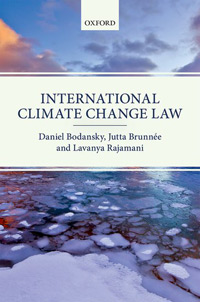 Book cover - International Climate Change Law