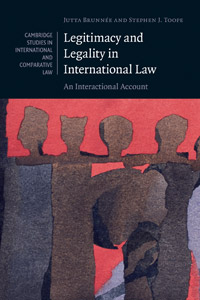 "Prof. Jutta Brunnee, ""Legitimacy and Legality in International Law"""