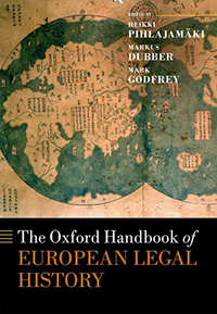 Oxford Handbook of European Legal History