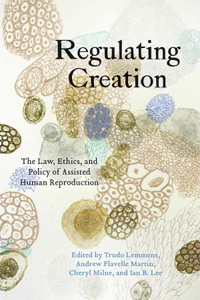 Book cover - Regulating Creation