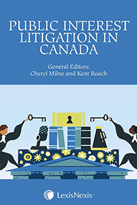 Public Interest Litigation in Canada