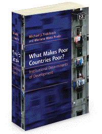 What Makes Poor Countries Poor? Institutional Determinants of Development