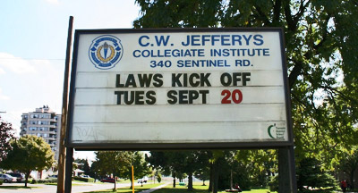 LAWS kicks off at C.W. Jefferys