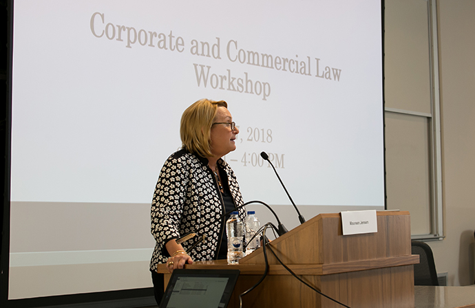 2018 Consumer and Corporate Law Workshop - keynote remarks