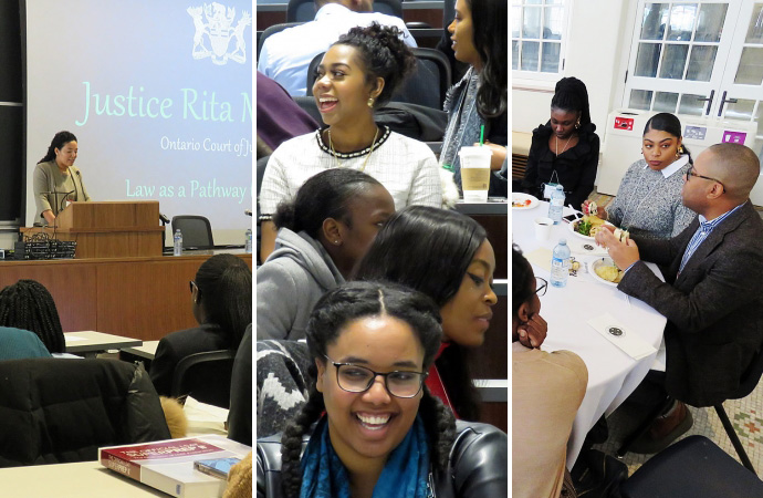 Images from Black Future Lawyers Conference