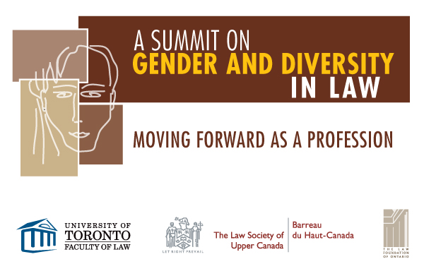 A Summit on Gender and Diversity in Law