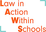 Law in Action Within Schools (LAWS) logo