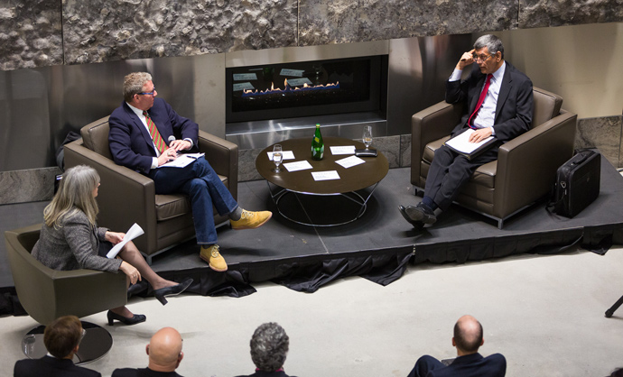 Asper Centre Fireside Chat with David Asper and Raj Anand