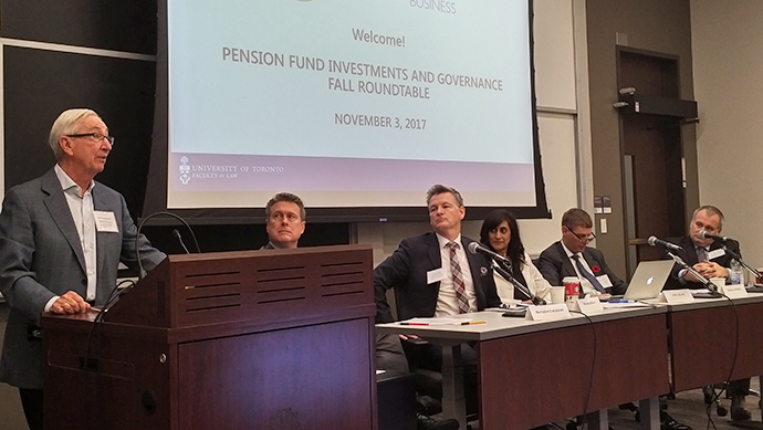 Pension Fund Investment and Governance Fall Roundtable