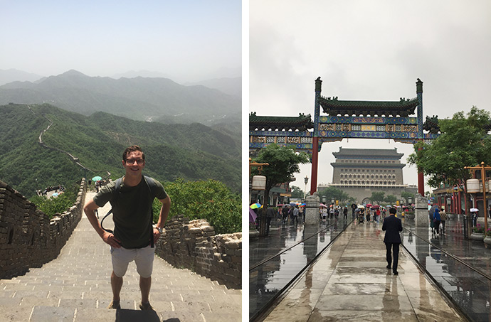 Images of D'Arcy White travels in China (Great Wall, Beijing)