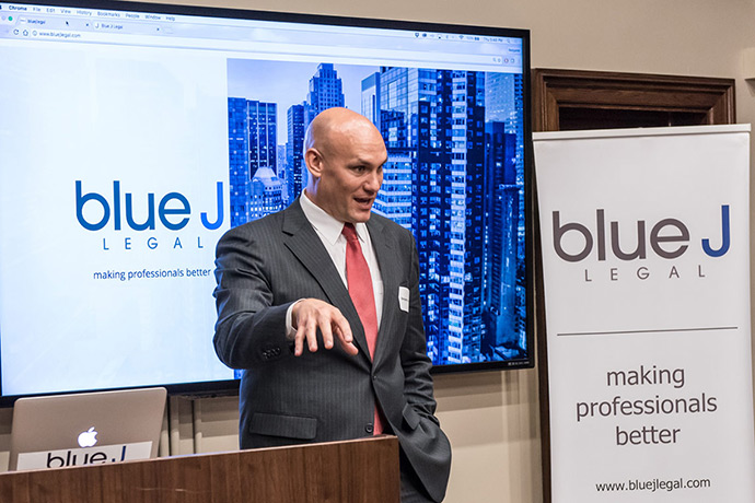 Prof. Benjamin Alarie speaks about Blue J Legal