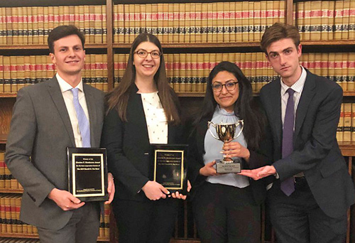 The 2019 Fox Moot team