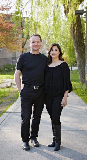 Arthur Bode, JD 1994, and Monique Rabideau, JD 1991