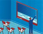 Illustration of classroom