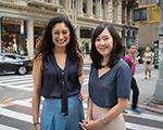 Alécia Chen and Kat Park