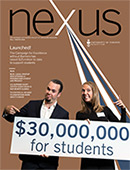 Cover of Nexus, Fall/Winter 2018