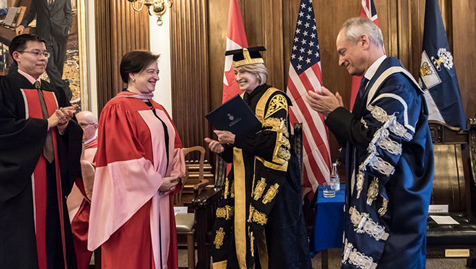 US Supreme Court Justice The Hon. Elena Kagan receives honorary degree from U of T