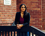 Law student Sukhmani Virdi  at Downtown Legal Services