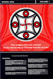 Indigenous Law Journal