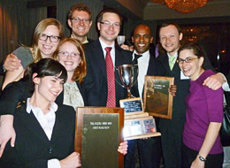 Mooting team wins