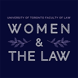 Women and the Law student group logo