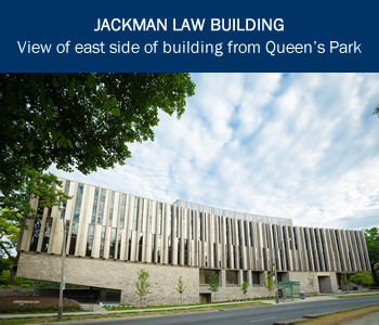 Jackman Law Building - east side