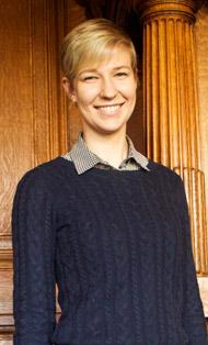 Megan Pearce, LLM student
