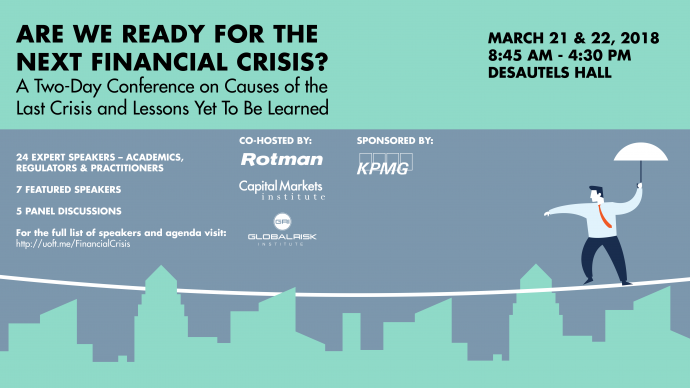 The Next Financial Crisis? A Two-Day Rotman Conference
