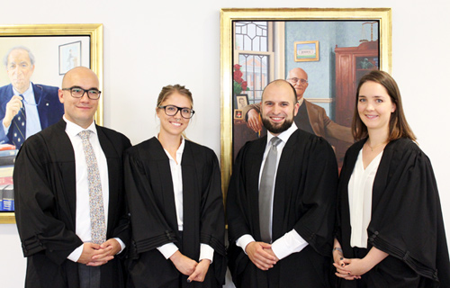 students who participated in 2016 Grand Moot, including Zachary Al-Khatib