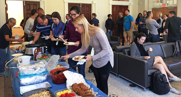 Aboriginal Law Students' Association Fall Feast, 2016