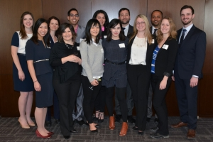Group shot of law students who volunteered with ProBono Students Canada