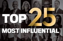 Canadian Lawyer's Top 25 Most Influential Lawyers list for 2019 image