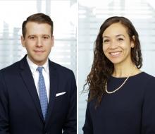 Daniel Del Gobbo and Sarah Mason-Case