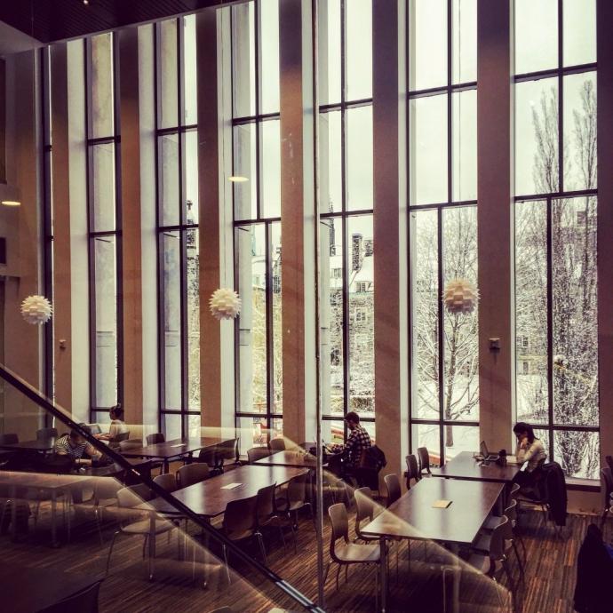 study space in Bora Laskin Law library