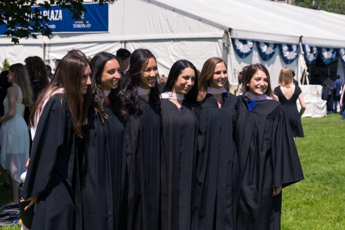 group of women law grads