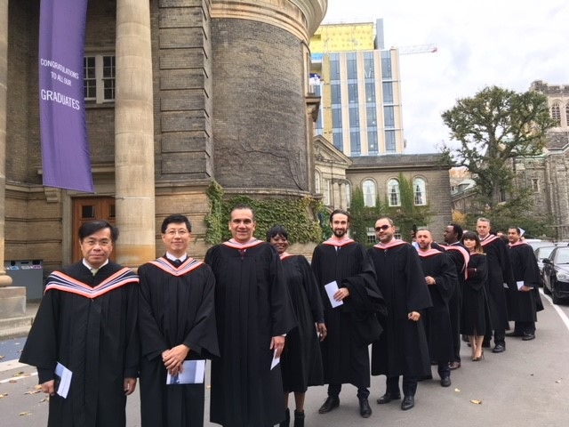 GPLLM graduates entering Convocation Hall on November 9th 2017