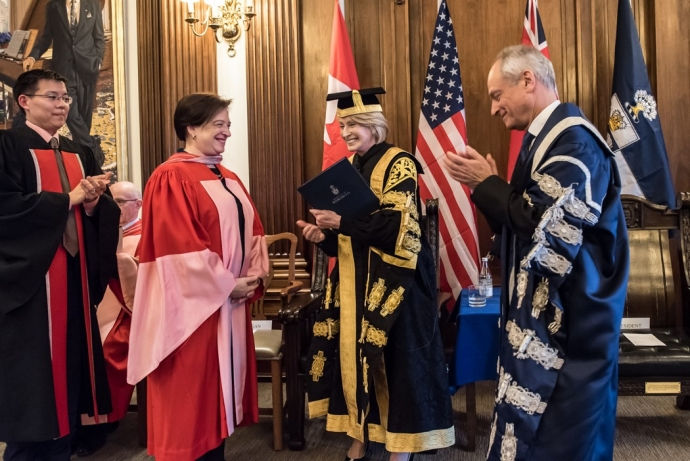 Justice Kagan receives her honorary U of T Doctor of Laws