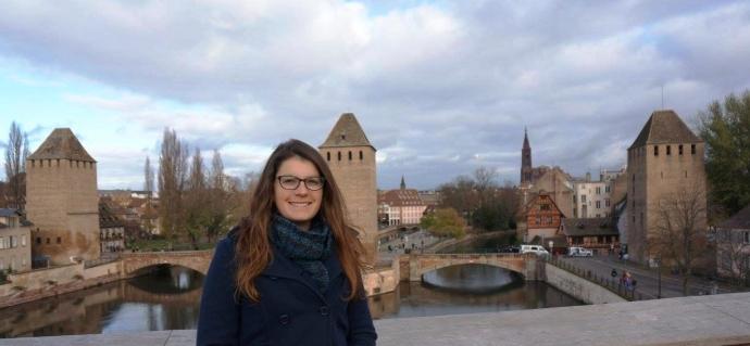 Catherine Dunmore in Strasbourg France