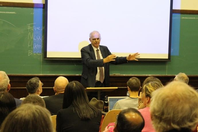 Konrad von Finckenstein gave the 2015 Grafstein Lecture in Communications