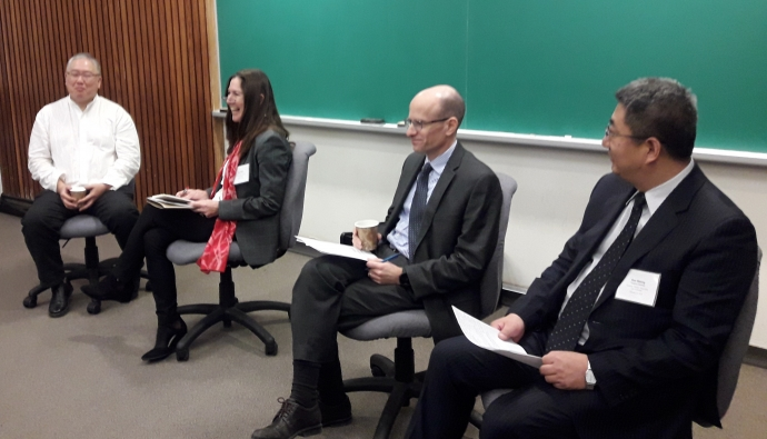 Dean's panel at the Tsinghua U of T law conference