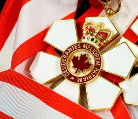 order of canada medal and ribbons